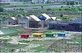 Gate Complex and StallsUnder Construction - Science City - Calcutta 1996-08-26 254.JPG