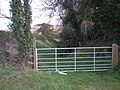 Gate across the bridleway - geograph.org.uk - 758434.jpg