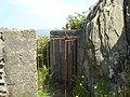 Gate on cliff path - geograph.org.uk - 909026.jpg