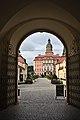 Gate to Książ Castle.jpg