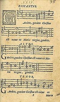 Originalnotblad med en af de mest kendte sange,