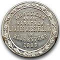 Gedenkmuenze Kaerntner-Landesausstellung 1885.jpg