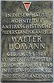 Gedenktafel Jungstr 18 (Friedh) Walter Homann.jpg