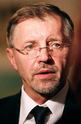 Lithuanian parliamentary election, 2008 - Image: Gediminas Kirkilas 2007