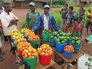 Cuisine of Mozambique - Image: Gemüse