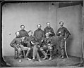 General Martin T. McMahon and Staff of Six. (3996049554).jpg
