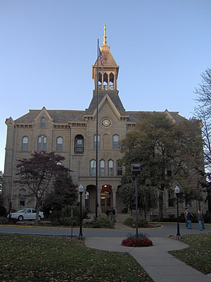 Geneva College - Old Main, Geneva's central building