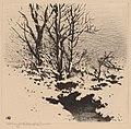 George Elbert Burr, The First Snow (no.2), c. 1926, NGA 69349.jpg
