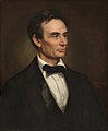 George Peter Alexander Healy - Portrait of Abraham Lincoln (1860).jpg