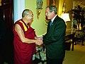 George W. Bush and the Dalai Lama at White House in 2003 (2).jpg