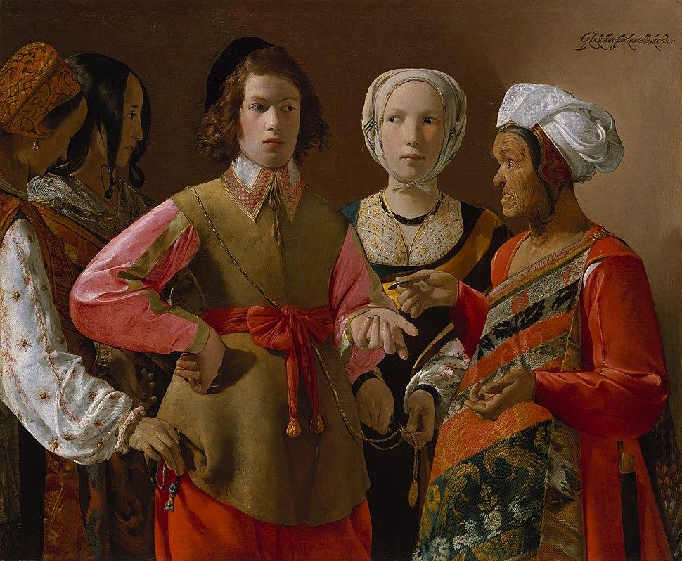 Georges de La Tour, The Fortune Teller