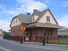 Train Station at Georgetown, DE