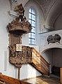 Georgskirche Sontheim an der Brenz pulpit.jpg