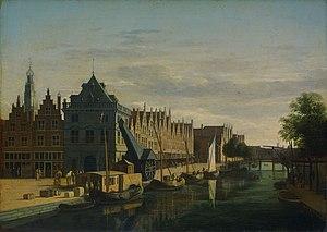 Waag, Haarlem - Image: Gerrit Adriaensz. Berckheyde 006