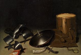 A Still-life Piece with Armour