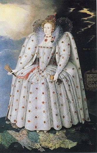 Armada Portrait - Image: Gheeraerts Elizabeth I The Ditchley Portrait c 1592