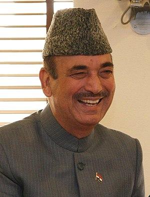 Ghulam Nabi Azad - Image: Ghulam Nabi Azad cropped