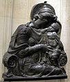 Gianfrancesco rustici (attr.), madonna col bambino, da fontainebleau, xvi sec.JPG