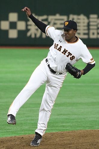 Arquimedes Caminero - Caminero with the Yomiuri Giants