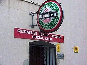 Gibraltar Senior Citizens Social Club, Town Ra...