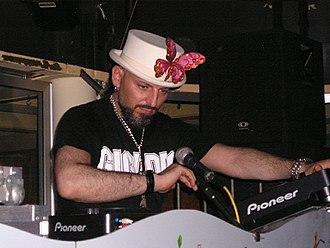 Gigi D'Agostino - D'Agostino performing in 2007.
