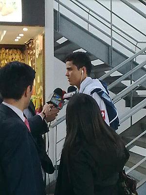 Gio Moreno in Bogota