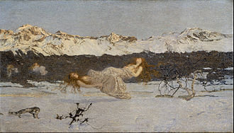 Giovanni Segantini - Giovanni Segantini - The Punishment of Lust