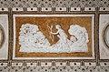 Giovanni da udine, storie della ninfa callisto, 1537-40, 13 callisto sedotta da zeus nelle sembianze di diana.jpg