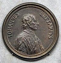 Giovanni zanobio weber, medaglia di giovanni gaetano bottari (bargello).jpg