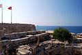 Girne Festung auf der Mauer 3.jpg