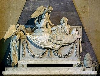 Archduke Karl of Austria-Este - Tomb of Archduke Karl of Austria-Este, by Giuseppe Pisani.