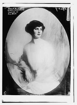 Gladys Eleanor Guggenheim Straus - Straus by A. L. Halmi