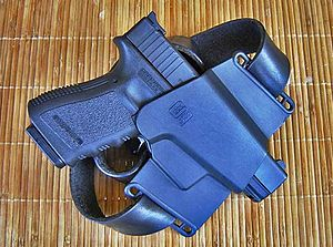 Holster for Glock pistol