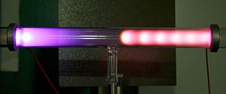 Cathode ray - Glow discharge in a low-pressure tube caused by electric current.