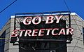 Go By Streetcar sign (day).jpg