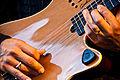 Godin guitar played - Celebrating Sanctuary London, South Bank, 2010-06-13 (photo by Garry Knight).jpg