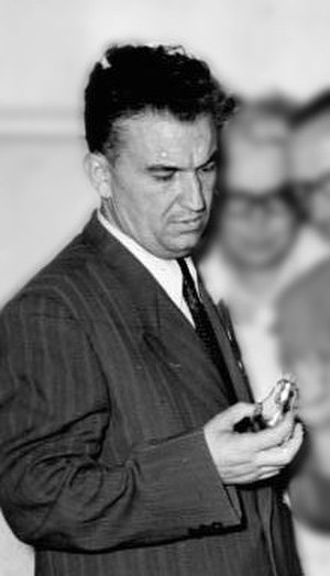 Chairman of the Parliament of Albania - Image: Gogo Nushi
