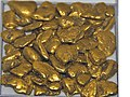 Gold-Fluvial pebbles from Washington State, USA (8458831980).jpg