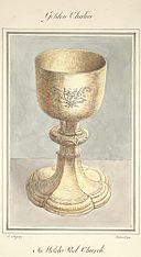 Golden chalice in Welch Pool Church, 1794.jpg