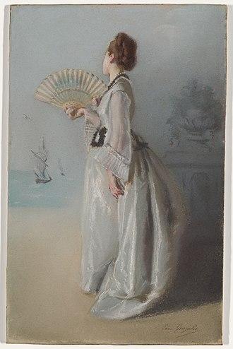 Eva Gonzalès - Image: Gonzales Lady With A Fan MIA 7281