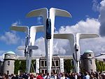 The Rolls Royce Central Display at the 2004 Goodwood Festival of Speed. Designed by Gerry Judah