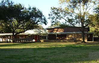 The Post Oak School - Gordon Elementary School (now Mandarin Chinese Language Immersion Magnet School), the former site of The Post Oak School