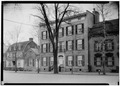 Governor Yates House, 17 Front Street, Schenectady, Schenectady County, NY HABS NY,47-SCHE,14-1.tif
