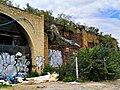 Graffiti in Shoreditch, London - Crane by Roa (9422249387).jpg