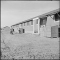 Granada Relocation Center, Amache, Colorado. A typical barracks building resident of the first apar . . . - NARA - 539118.tif