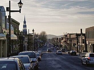 Granby, Quebec - Rue Principale (Main Street).