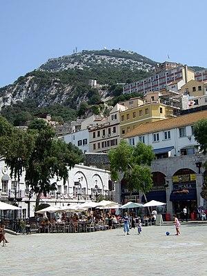 Grand Casemates Square, Gibraltar.