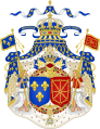 Grand Royal Coat of Arms of France & Navarre.svg