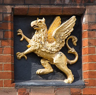 Gray's Inn - The Gray's Inn badge (a gold griffin on a black field)