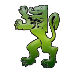 Caragh - Image: Green Lion Border